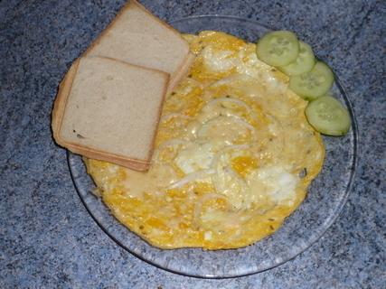 FOTKA - sýrová  omeleta