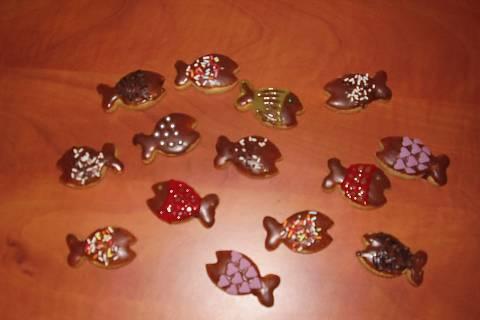 FOTKA - Perníkové rybičky