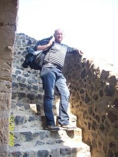 FOTKA - Krstný na schodoch