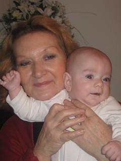 FOTKA - kája s babičkou