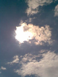 FOTKA - Slunce schované za mraky