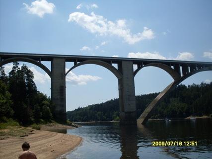 FOTKA - most na Orlické přehradě