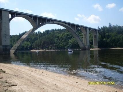 FOTKA - most na Orlické přehradě 1