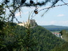 hrad Boskovice za stromky