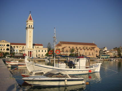 FOTKA - hlavní město Zakynthos