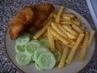 dnešní oběd-kuřecí řízečky s hranolkama