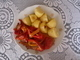 Pangasius s bramborem a zeleninou