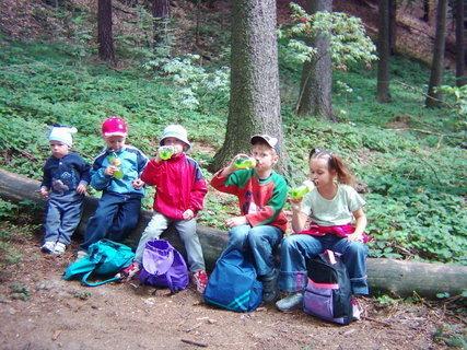 FOTKA - Prachovské skály.všechny děti 1