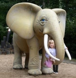 FOTKA - moje zlatíčko u slona