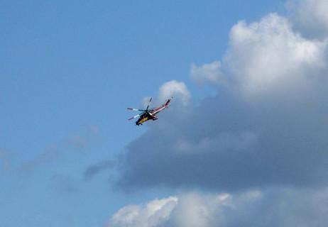 FOTKA - železná vosa-helikoptéra