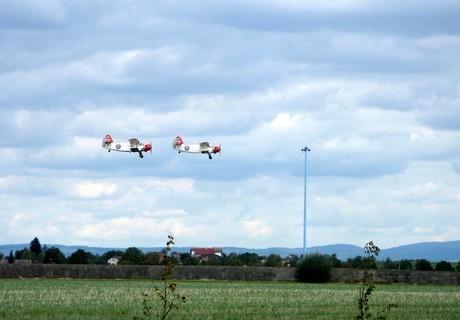 FOTKA - Dvě malá letadýlka
