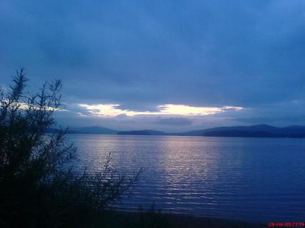 FOTKA - Západ slunce nad Lipnem 2
