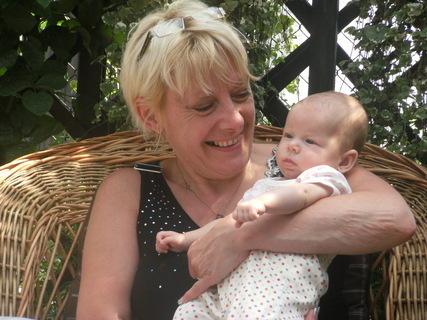 FOTKA - nejmenší a nejmladší vnučka Natálka