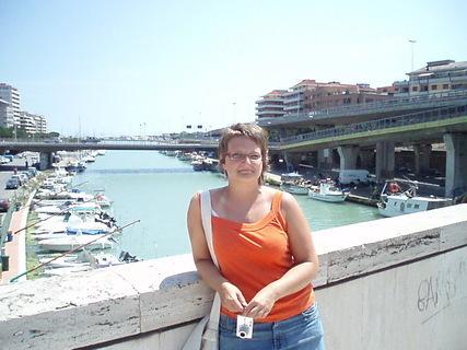 FOTKA - v přístavu Pescara