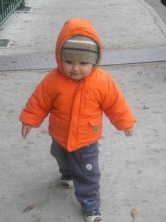 FOTKA - Adámek už je připraven na zimu