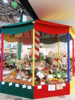 FOTKA - stánek se zeleninou