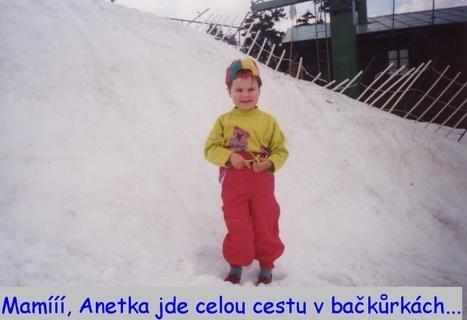 FOTKA - Na sněhu