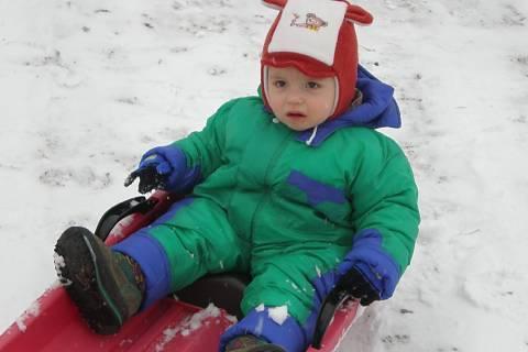FOTKA - Tomášek a první sníh