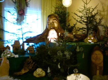 FOTKA - vánoční pařez