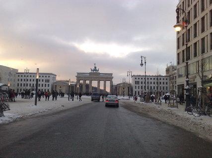 FOTKA - Braniborská brána v zimě 2