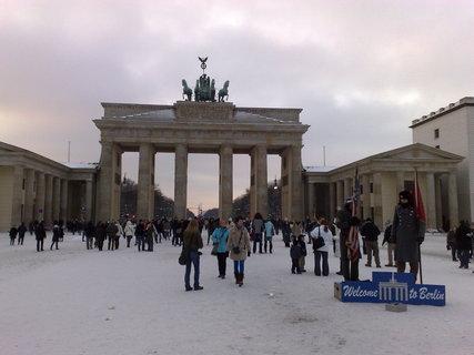 FOTKA - Braniborská brána v zimě 4