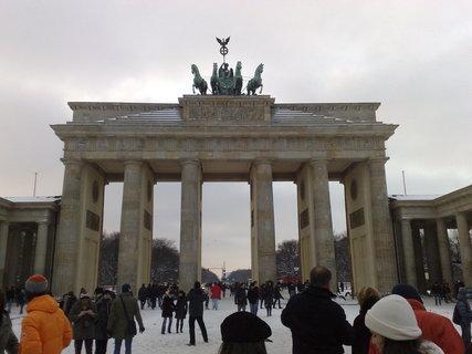 FOTKA - Braniborská brána v zimě 5