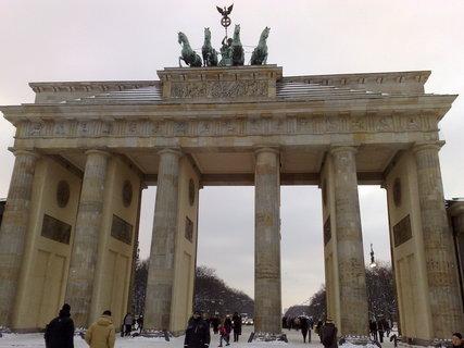 FOTKA - Braniborská brána v zimě 6