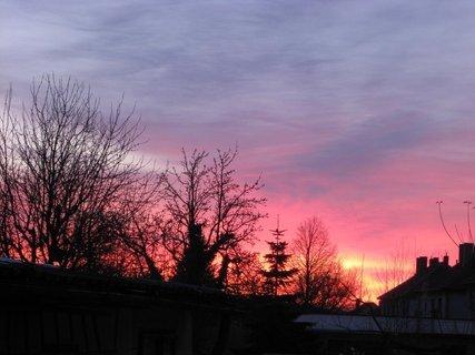 FOTKA - východ slunce 9.3.2010