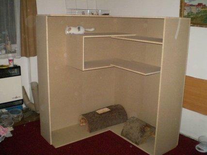 FOTKA - budujeme nové bydlení pro myšáky