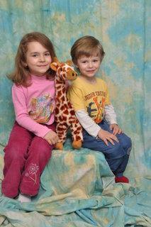 FOTKA - foto s žirafou