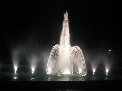 FOTKA - Fontána v noci