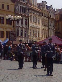 FOTKA - Přehlídka Čestné stráže z Polska
