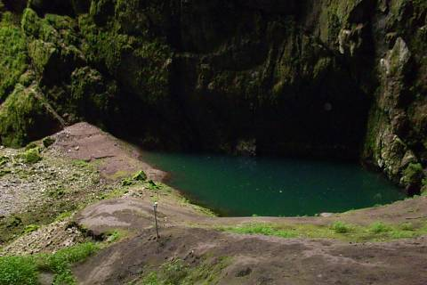 FOTKA - Macocha jezero
