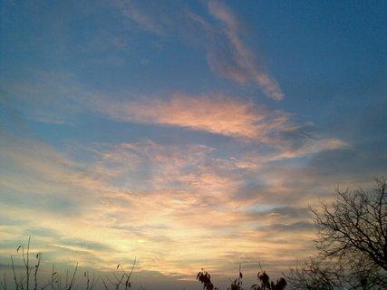 FOTKA - Červánkové nebe
