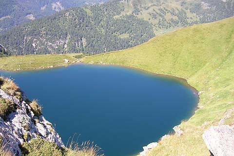 FOTKA - Horské jezero
