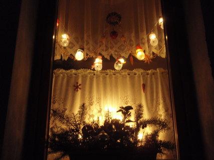 FOTKA - vánoční okno