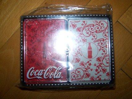 FOTKA - karty z Cocacoly