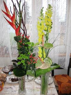 FOTKA - kytky pro manžela k narozeninám