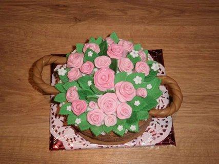 FOTKA - Košíček růží.....