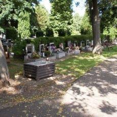 cesta ze hřbitova