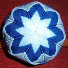 Zdobení polystyrenové koule