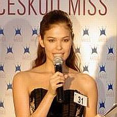 Česká Miss 2009 - Zina Šťovíčková