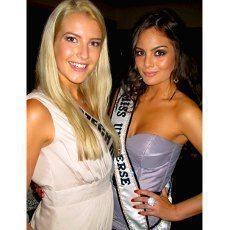 Vítězkou Miss Universe je dívka z Angoly, Češka zažila perné chvíle