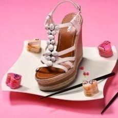 deichmann růžové boty