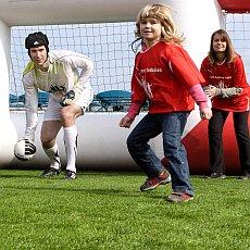 Postavte rodinný tým a užijte si fotbalové odpoledne