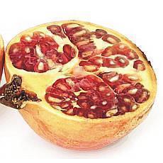 Exotické ovoce - granátové jablko