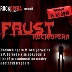 Nová rocková opera Faust se dočká své premiéry 11.12. 2014