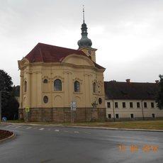 barokní kaple ve Smiřicích