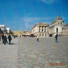 zámecký park Versailles