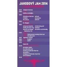 Festival Jahodový jam 2014 nabízí bohatý program